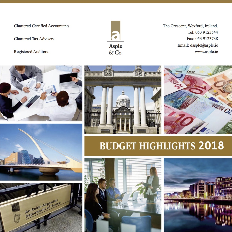 Budget Highlights 2018